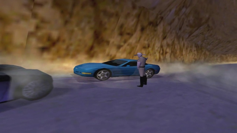 NFS 3. Hot Pursuit - Pursuit El Nino (Redrock Ridge)