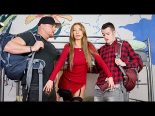 Marilyn crystal sexy girl in hot threesome at the hostel | all sex anal big tits russian brazzers porn порно