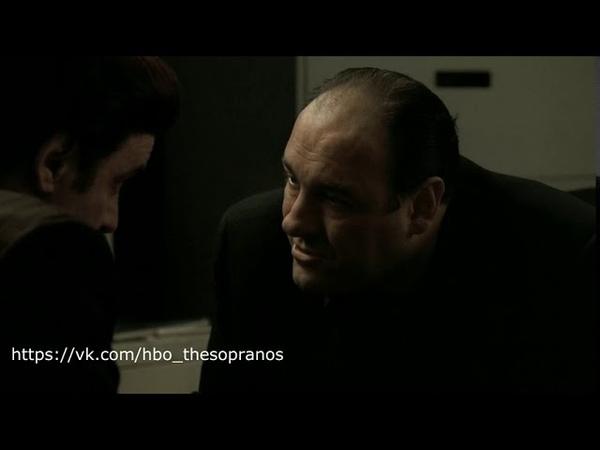 The Sopranos Клан Сопрано Сил говорит Тони о всеобщем недовольстве ситуацией