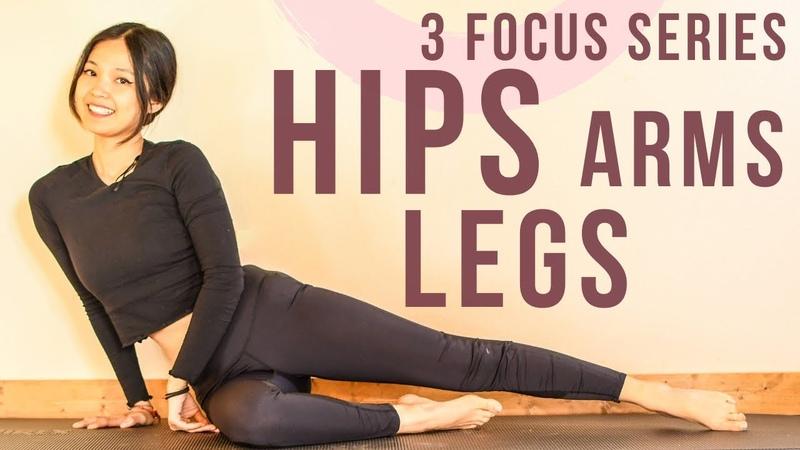 Интенсивный пилатес Руки бедра ноги Intense Focus * Arms Hips Legs * Pilates Workout At Home with Hannah