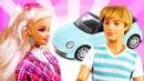 Детские видео про игры в куклы. Барби и Кен путешествуют на машине Барби. Тайная жизнь игрушек
