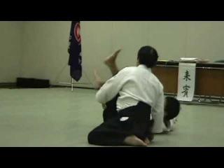 kazuo igarashi 7th dan  -aikido igarashi dojo demo-