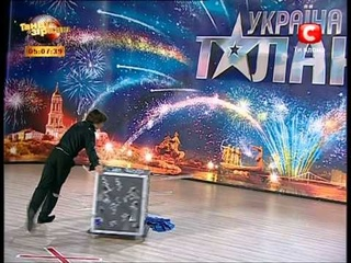 Україна має талант - Харьковский фокусник Миша