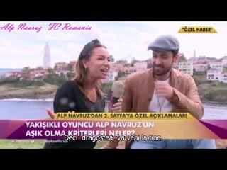 Interviu Alp Navruz, oct 2019 tradus in romana
