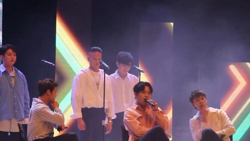 [FANCAM] 17.05.2018: BTOB - Missing You @ Kyunghee University Festival