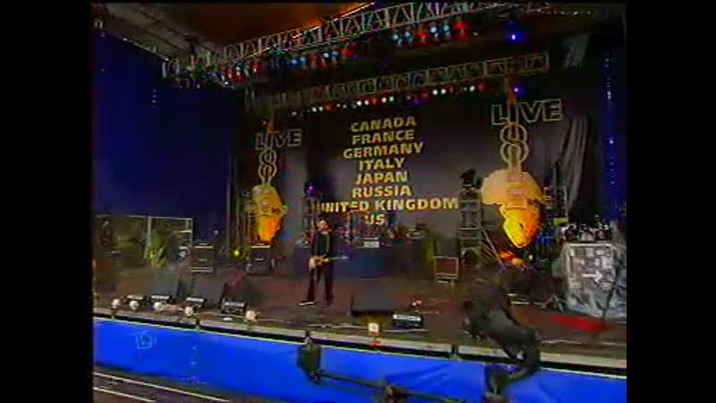 АГАТА КРИСТИ - сказочная тайга (live on ''live-8'', москва, васильевский спуск, 02.07.2005)