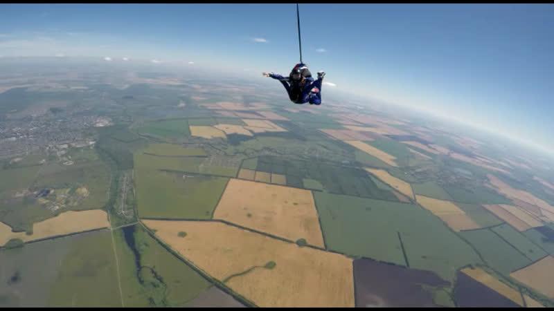 Прыжок с парашютом 10.07.20 ❤️