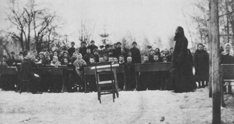 Количество учащихся гимназического уровня всех видов и всех ведомств в Российской Империи составляло около 800 000 человек