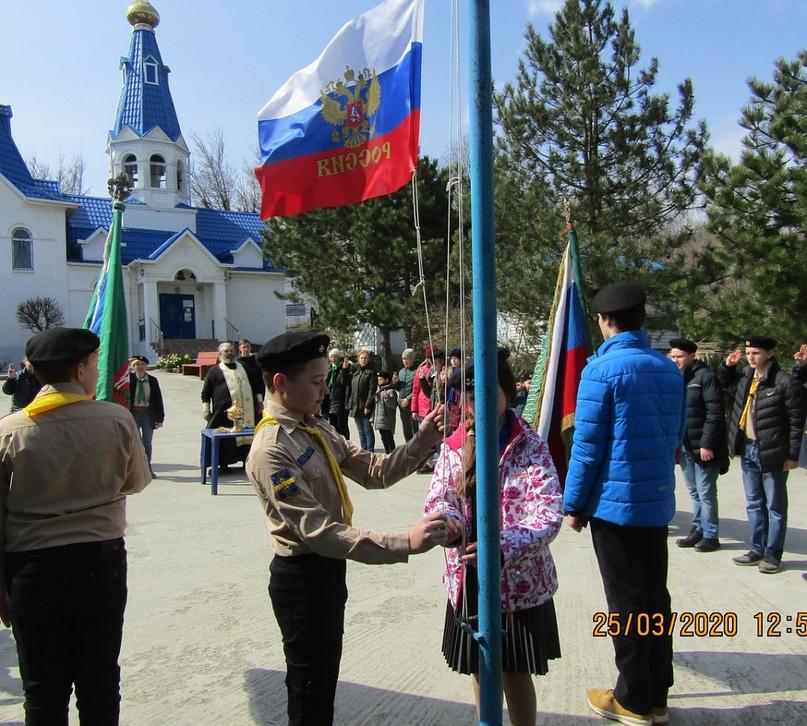 В Северо-Кавказском отделе успешно прошёл слёт скаутов-разведчиков