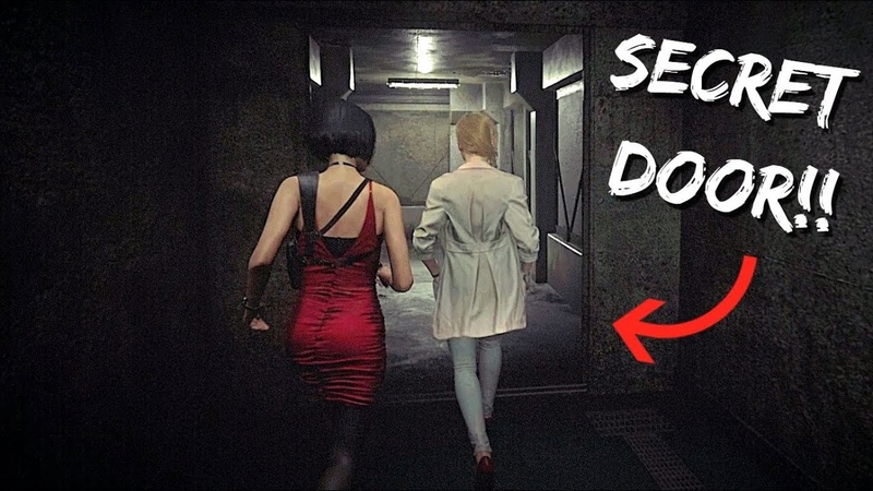 What Happens if You Enter Anette's Secret Door Resident Evil 2 REMAKE