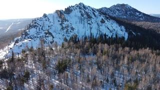 Полет ко Второй Малиновой горе (хребет Малидак) | DJI Mini 2 | 4K Cinematic Drone Video