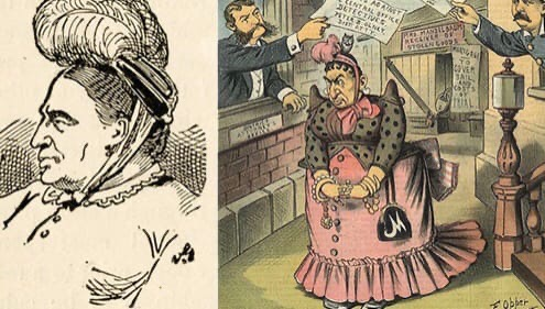 По меркам истории США молодая страна Народных эпических сказаний у неё нет, но персонажи сродни Робин Гуду имеются. Одна из них Сэди Фаррел по прозвищу Коза.В середине XIX века первый мегаполис