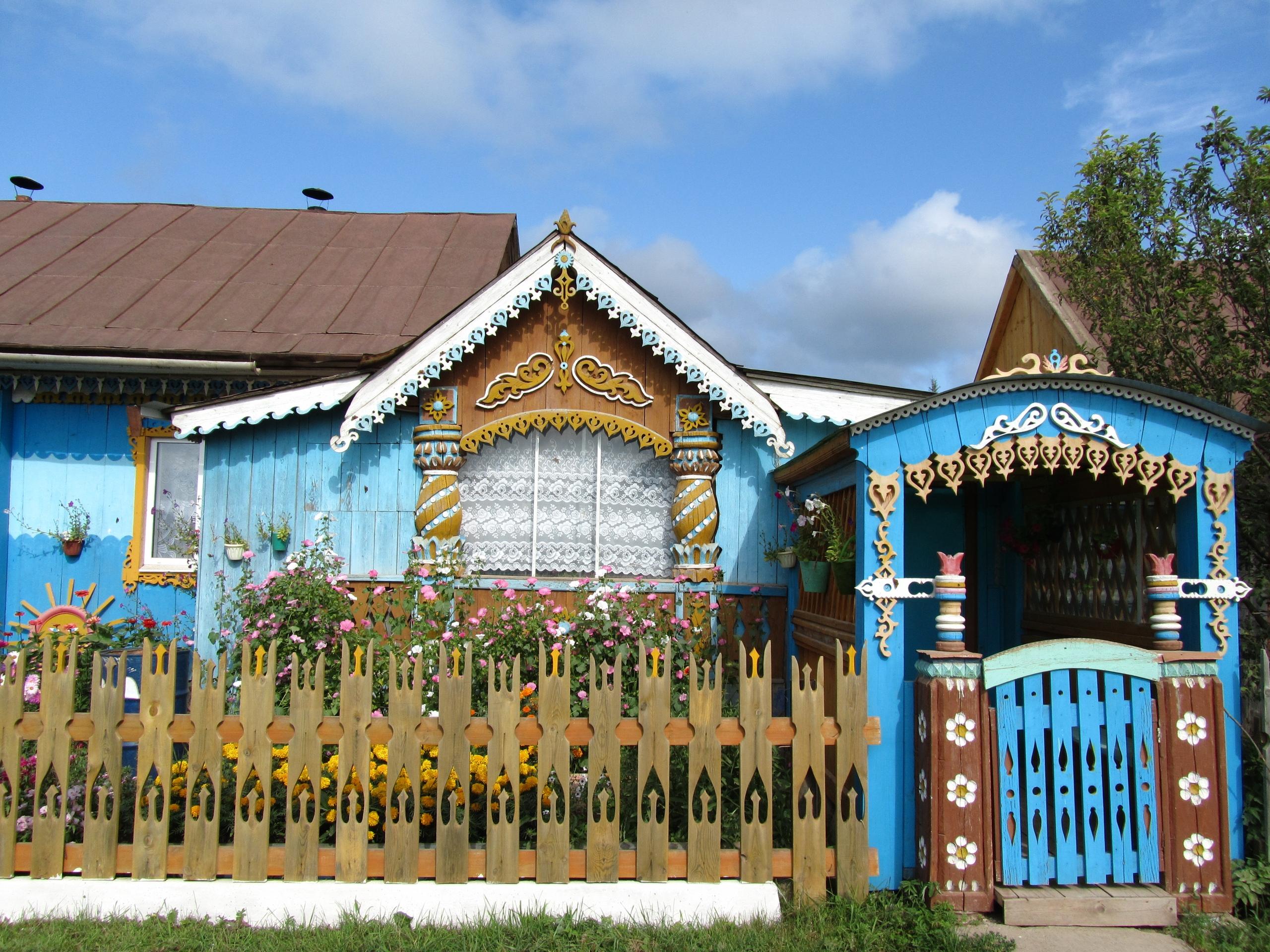 Дом Егора Утробина в Пармайлово