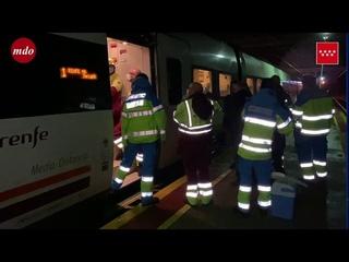 Accidente de tren en Zarzalejos