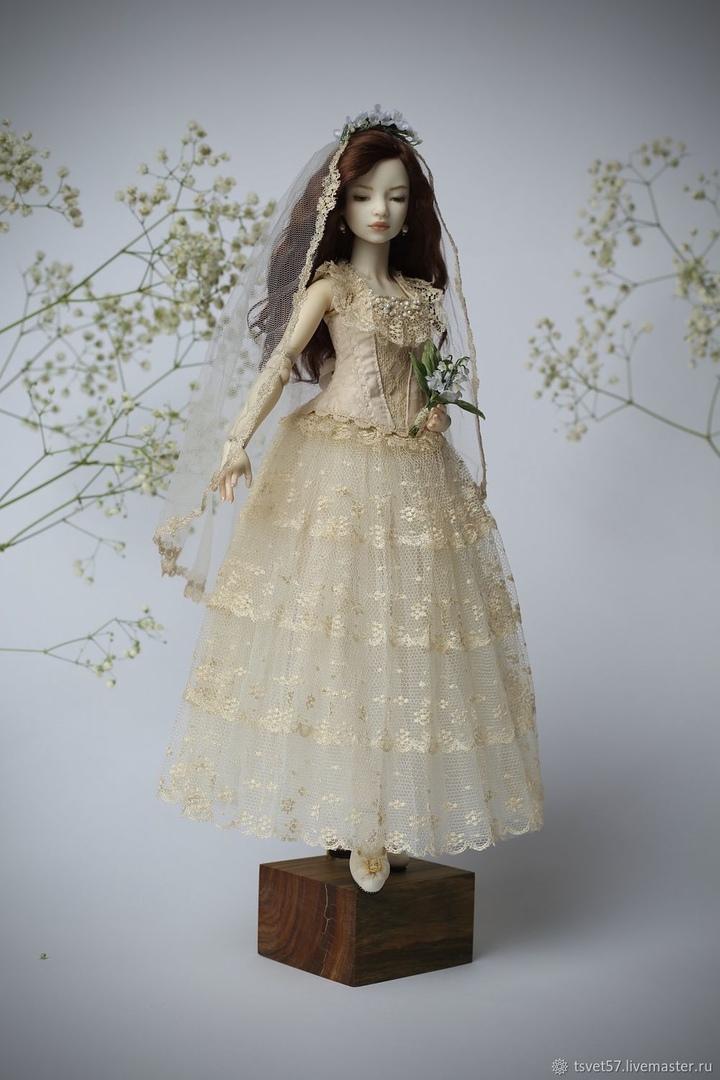 Шарнирные куклы от Маргариты Цветковой