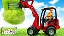 Робокар Поли убирают поле в ТукТук Шоу! Развивающие видео про машинки и игры для мальчиков