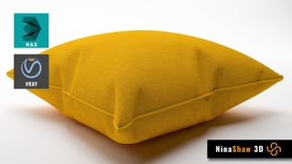 Make the Perfect Pillow in Autodesk 3dsMax | Cloth Modifier Tutorial