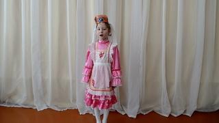 Юнусова Карина, 6 лет, с.Кандры, «Солист» (эстрадный вокал), 6-9 лет. Дусларга
