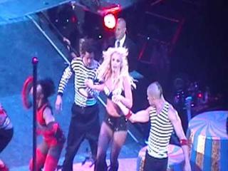 Radar (before 'smokey' blackout) Britney Spears
