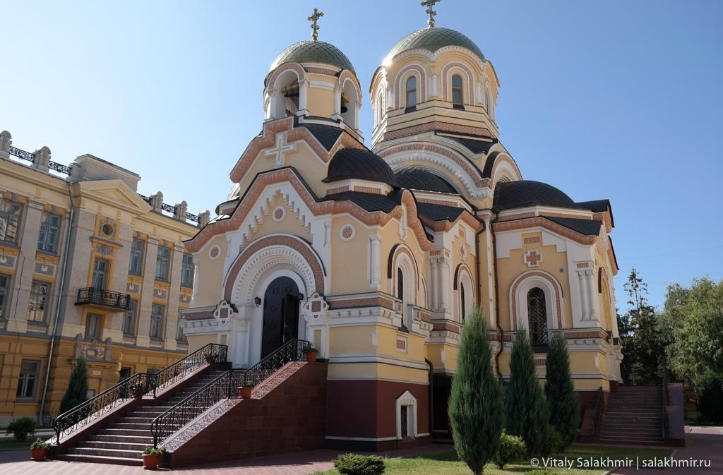 Церковь в студенческом городке Саратова 2020