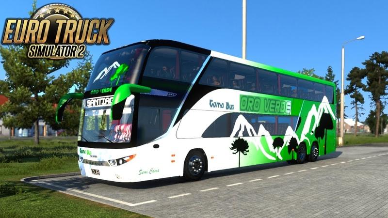 SCANIA MODASA ZEUS 3 6X2 BUS 1 41 Euro Truck Simulator 2
