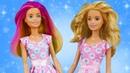 Близняшки Барби пришли в Школу стилиста - различит ли их Алёна Видео для девочек про кукол Барби