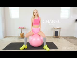 Chanel Shortcake - Fit18 - Initial Casting ## POV skinny blonde teen petite yoga pants sport uniform blowjob sex porn