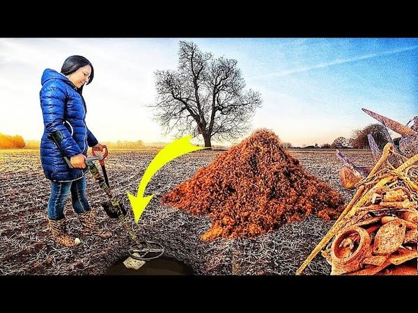 Древняя святыня скрывалась под ржавым железом Находки с металлоискателем Коп поиск монет