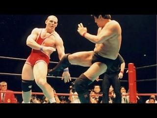 Александр Карелин против японского каратиста Акира Маеда