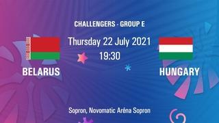 Belarus vs. Hungary   FIBA U20 European Challenger   Sopron, Hungary