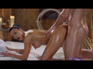 Massagerooms - shalina devine - oily cock massage with hot romanian  [full hd 1080, all sex, squirting, czech, blowjob,big tits]