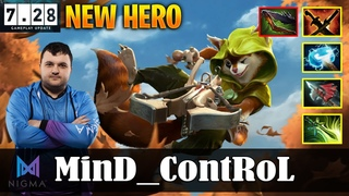 MinD_ContRoL - Hoodwink MID | NEW HERO vs Miracle |  Update Patch | Dota 2 Pro MMR Gameplay