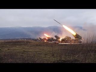 Стрельбы ракетных войск и артиллерии в Краснодарском крае