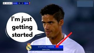 "Varane's Champions League ""MASTERCLASS"" 2020"