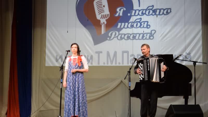 Патриотическая песня2020 г Дарья Моршнева 1я степень
