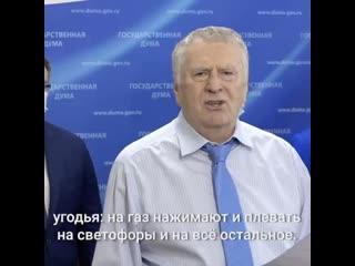 Владимир Жириновский про аварию на Остоженке