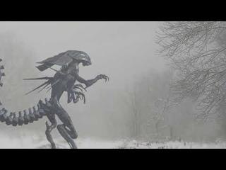 СРОЧНО ЛЮДИ ИСПУГАНЫ ОТ ЭТОГО МОНСТРА!охотники встретили древнего монстра в лесу!!