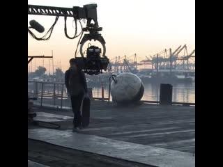 Съемки - Новый Человек-Паук (удаленная сцена)