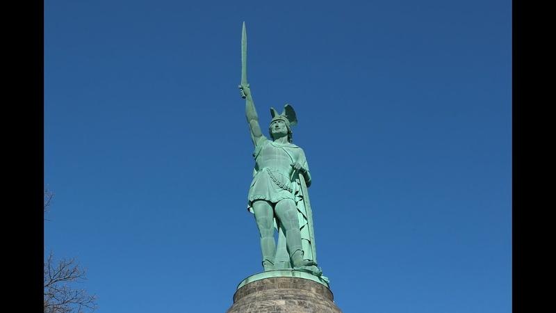 Памятник Арминию - первый шаг к независимости Германии