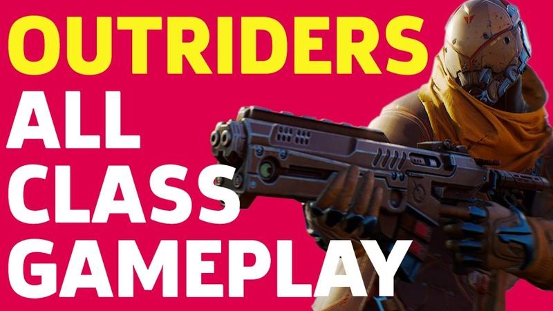 Outriders Trickster Pyromancer and Devastator Gameplay