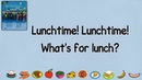 Super Minds 1: Unit 4 Lunchtime   Listen and chant (Page 46)