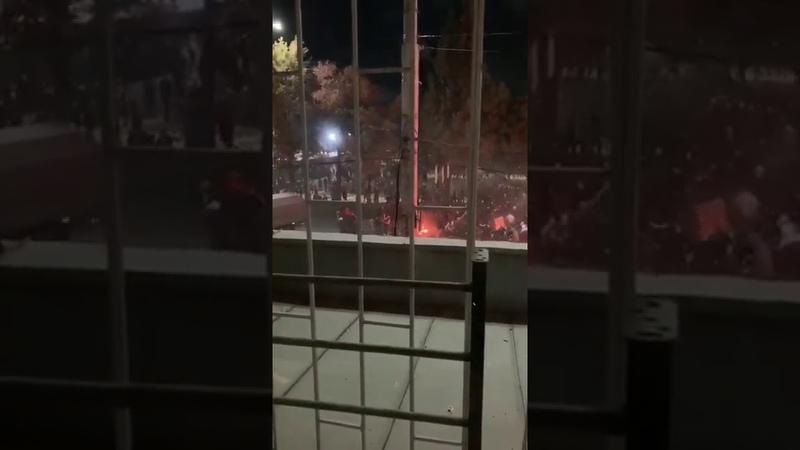 Бишкек митинг 6 октября Военный грузовик элдерди тепселеп качты артка