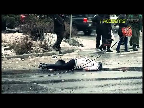 48 Троллейбус Донецк 22 января 2015 попадание убитые и раненые