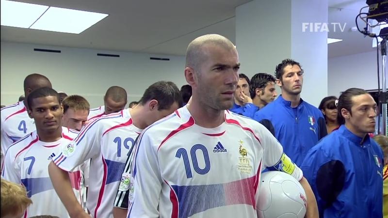 Zinedine Zidane's headbutt on Marco Materazzi Germany WC