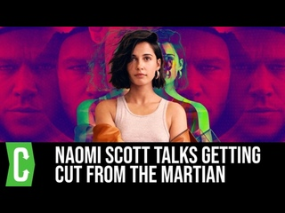 2021 Naomi Scott on Getting Cut Out of The Martian and Why Its OK to Choke