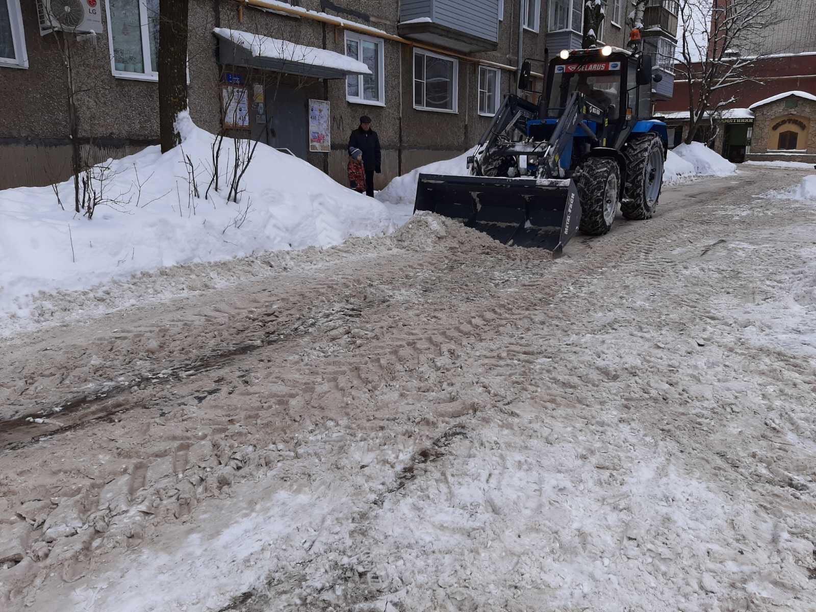 Октябрьский проспект дом 87 б механизированная уборка