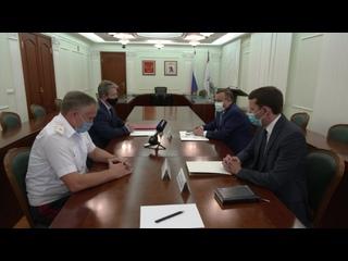 Глава Марий Эл Александр Евстифеев встретился с братом Марка Евтюхина – Игорем