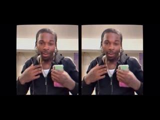 Видео от Saint Laurent Mask