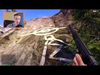 [Raily] GTA 5 - Я разгадал тайну Горы Чиллиад.. вот в чем секрет!