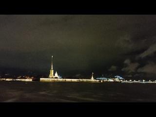 Ночной мартовский Петербург.  #санктпетербург #питер #спб #петербург